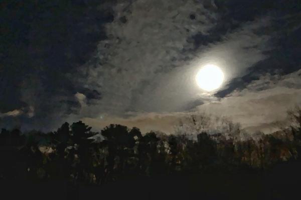 Blue Hill Moon